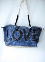 Ali Lamu Weekend Bag Large Blue