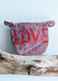 Ali Lamu Purse Red Love