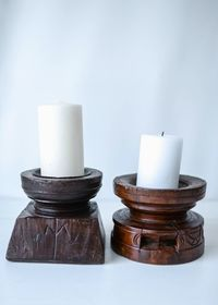 Vintage Candle Stand L